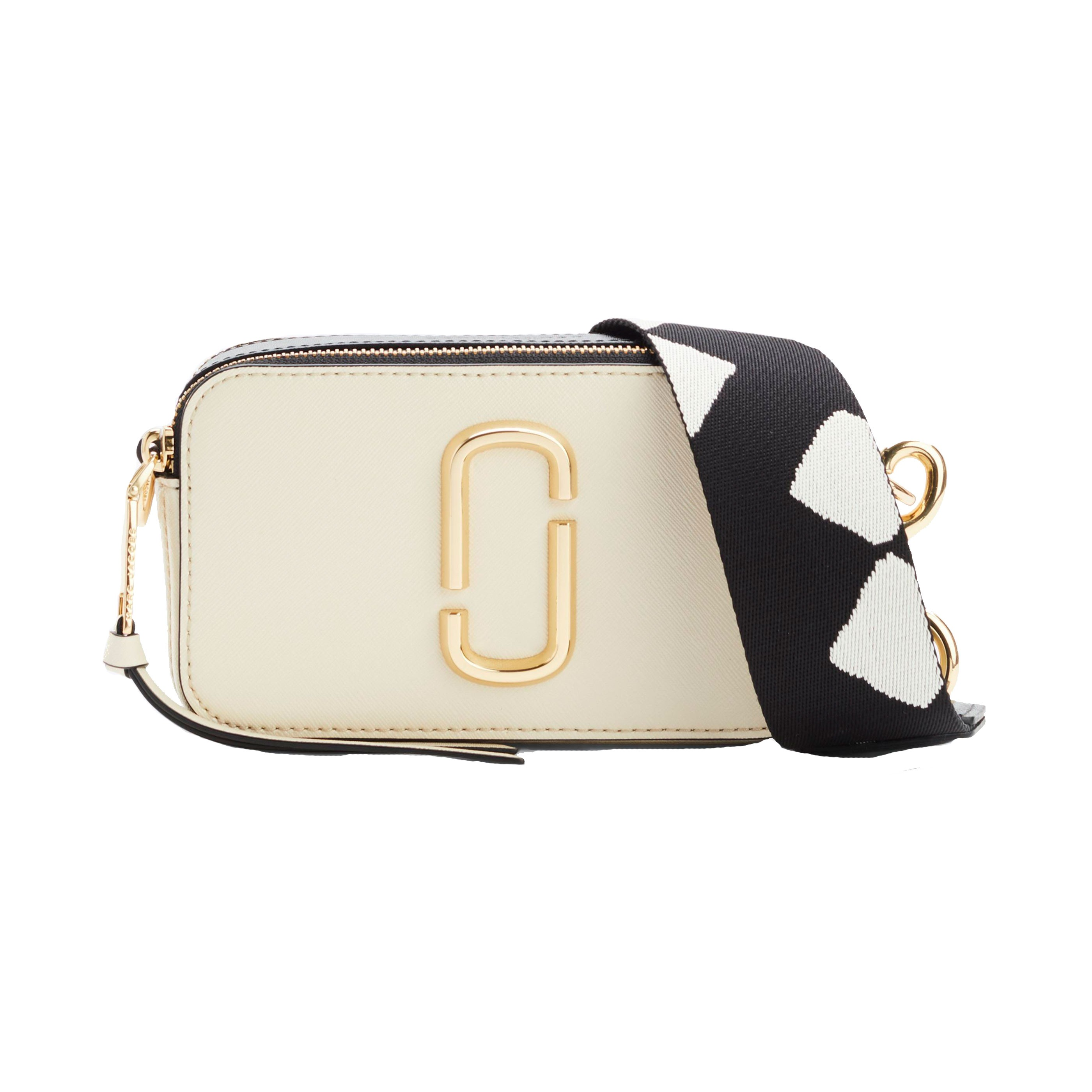 56dde3bbd02 Marc Jacobs – Snapshot Small Camera Taske, Porcelain Multi - Phigo ...