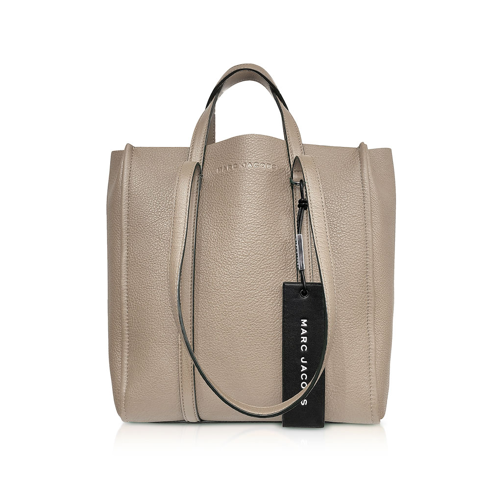 7f1886f18dc Marc Jacobs - The Tag Tote, Cement - Phigo Fine Luxury