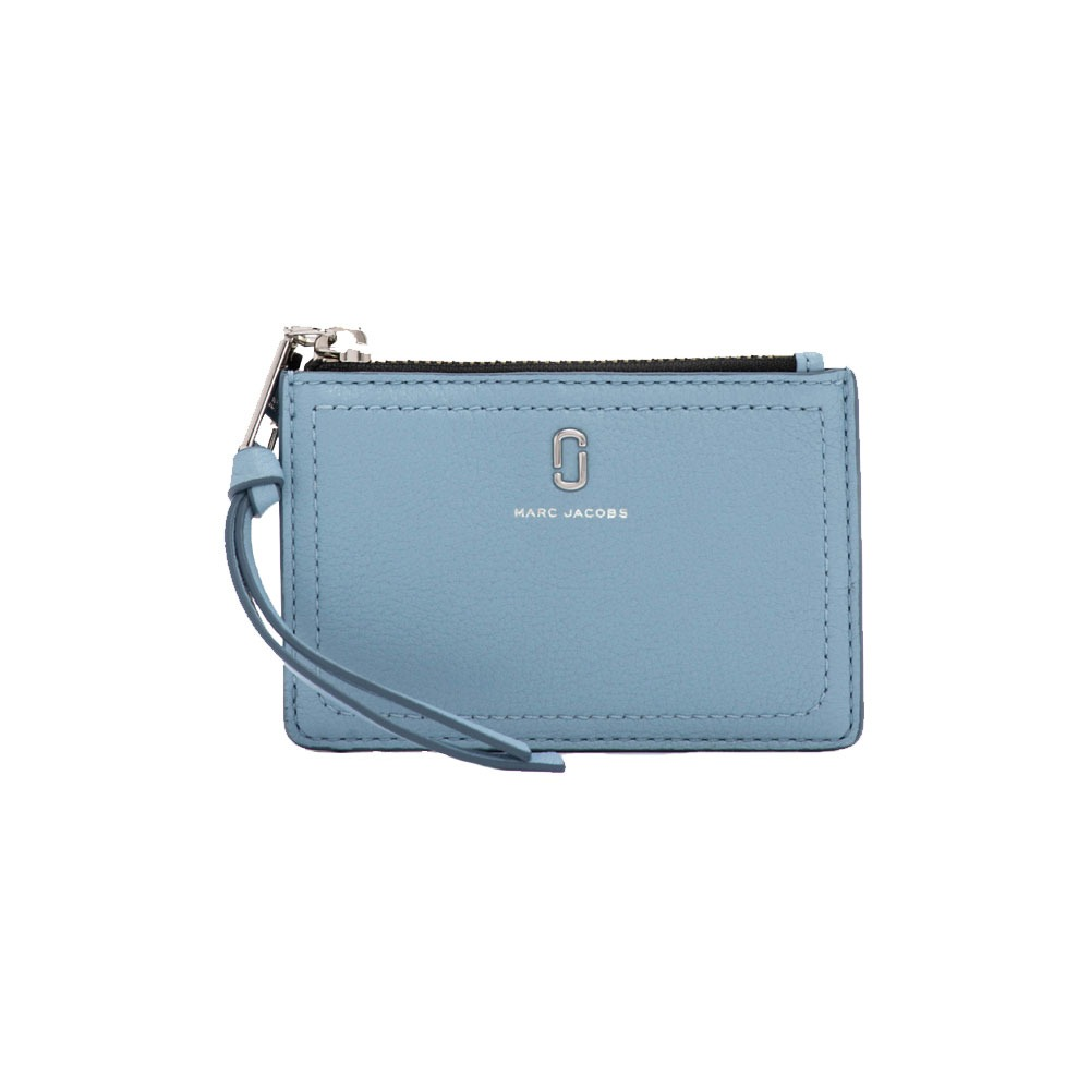 61370ac2077 Marc Jacobs - The Softshot Top Zip Multi Pung, Misty Blue - Phigo ...