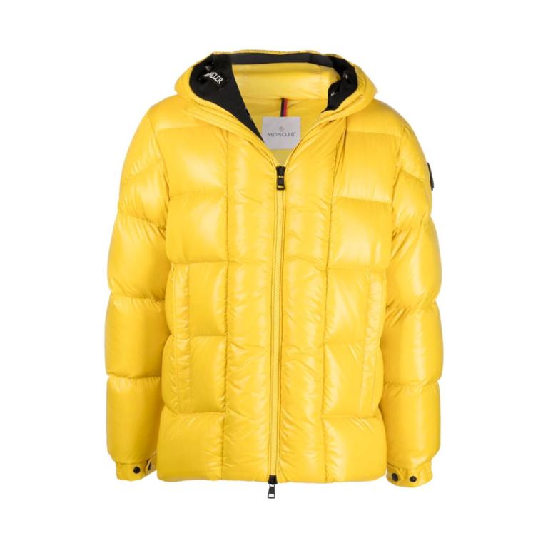 moncler yellow jacket gul jakke