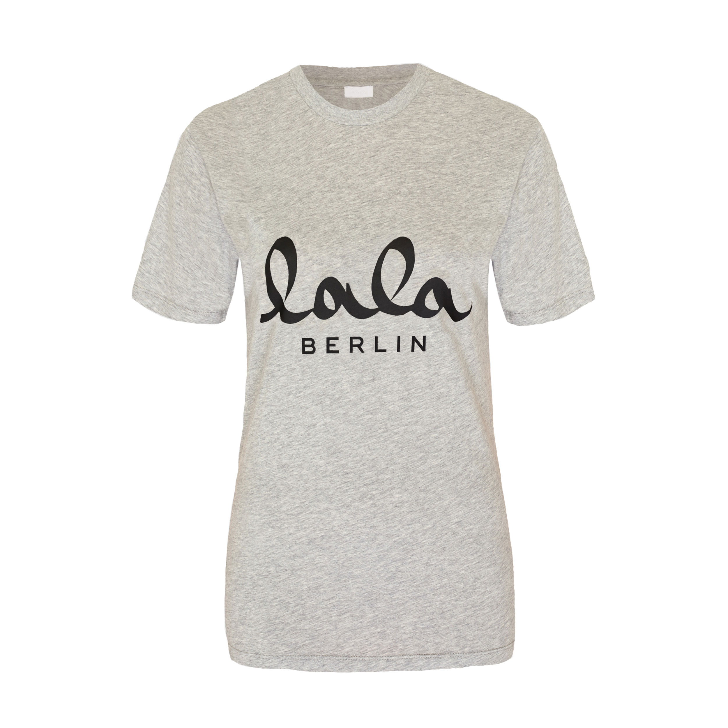 lala berlin zanita t shirt grey melange phigo fine luxury. Black Bedroom Furniture Sets. Home Design Ideas